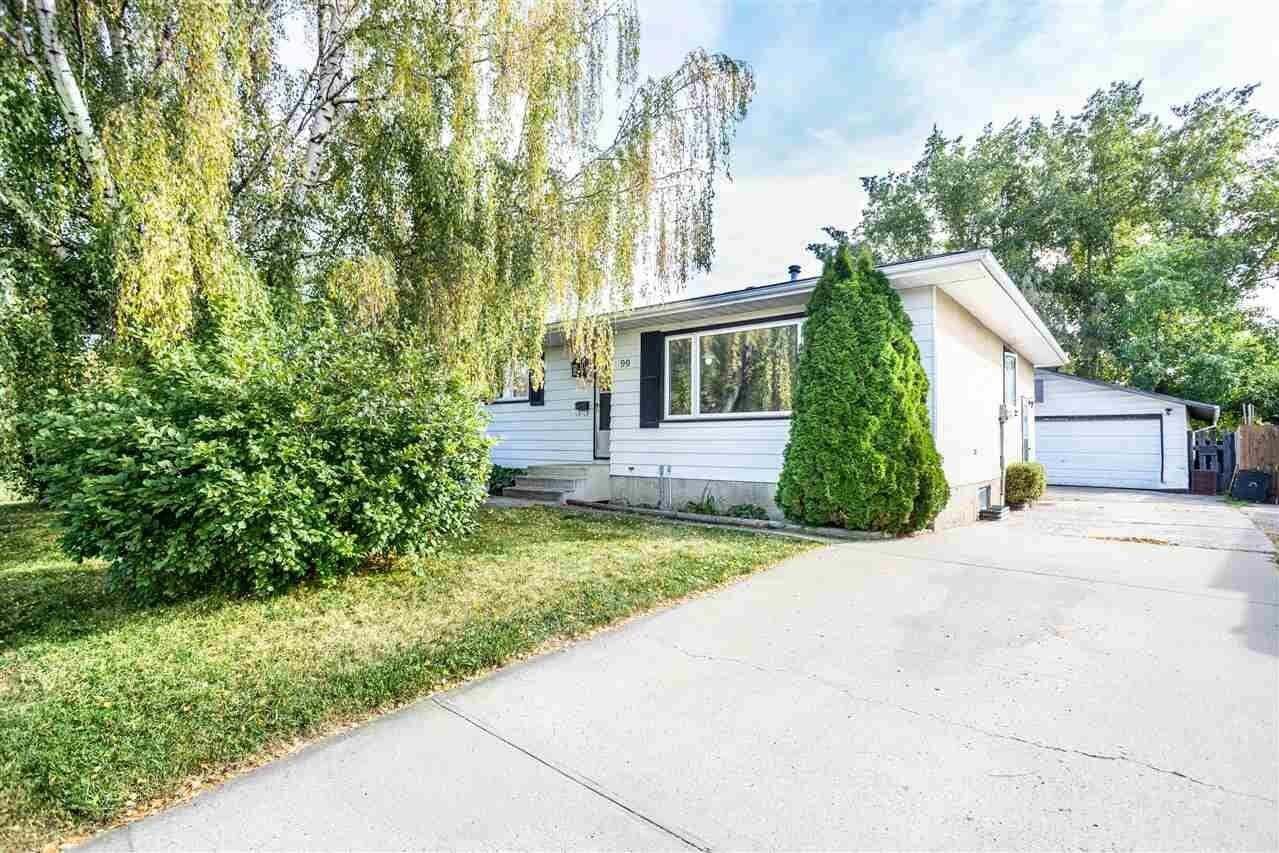 House for sale at 99 Ekota Cr NW Edmonton Alberta - MLS: E4215402
