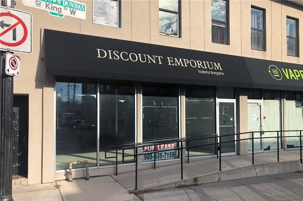Commercial property for lease at 99 King St W Dundas Ontario - MLS: H4092766