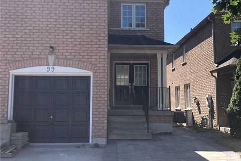 Townhouse for rent at 99 Maple Sugar Ln Vaughan Ontario - MLS: N4553830