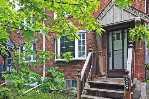 Townhouse for sale at 99 Osborne Ave Toronto Ontario - MLS: E4481817