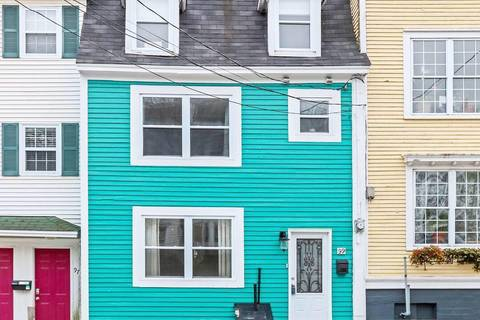 House for sale at 99 Pleasant St St. John's Newfoundland - MLS: 1199063