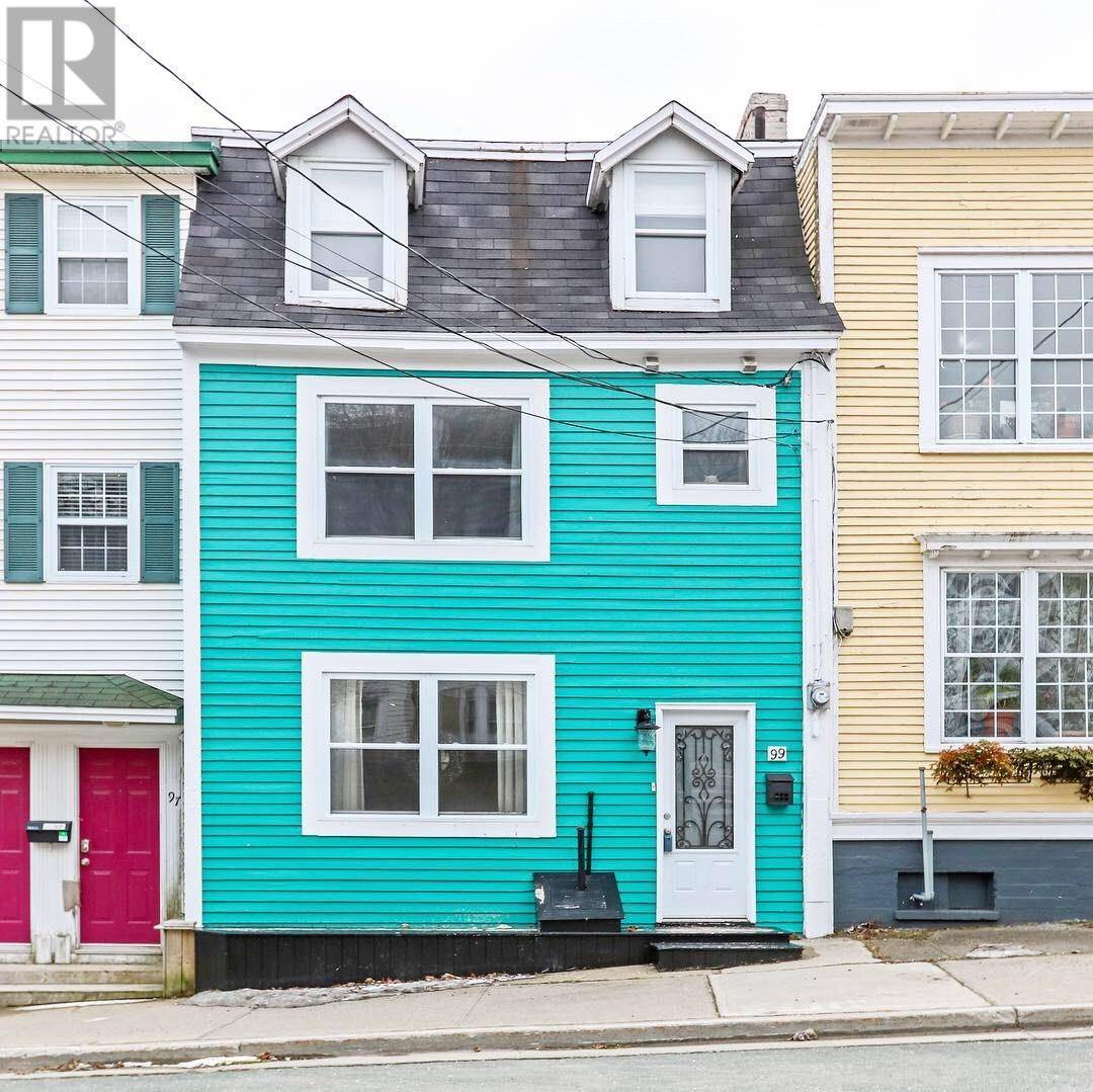 House for sale at 99 Pleasant St St. John's Newfoundland - MLS: 1209826