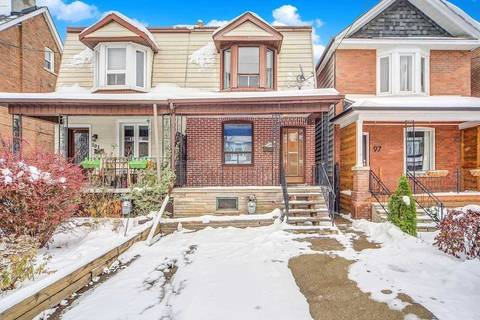 Townhouse for sale at 99 Russett Ave Toronto Ontario - MLS: W4648767