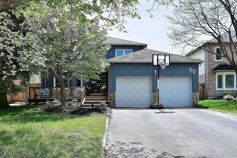 House for sale at 99 Tamarac Tr Aurora Ontario - MLS: N4584233