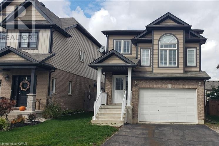 House for rent at 991 Bianca Ct Kitchener Ontario - MLS: 40031767