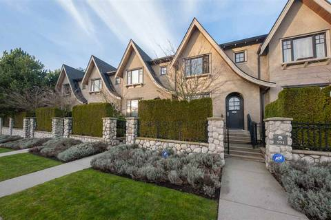 Townhouse for sale at 991 38th Ave W Vancouver British Columbia - MLS: R2350357