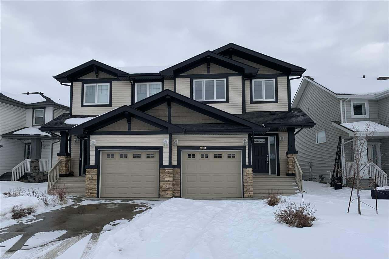 Townhouse for sale at 9911 217 St NW Edmonton Alberta - MLS: E4186501