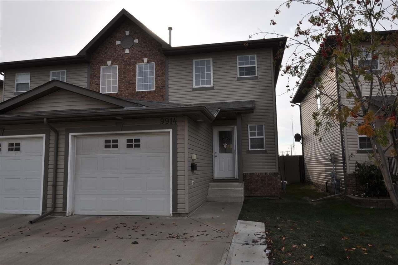Townhouse for sale at 9914 102 Av Morinville Alberta - MLS: E4218439
