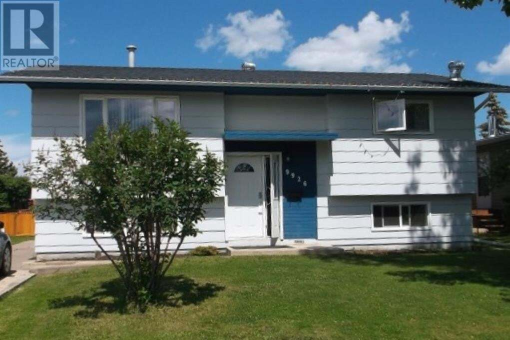 House for sale at 9926 81 Ave Grande Prairie Alberta - MLS: A1001961