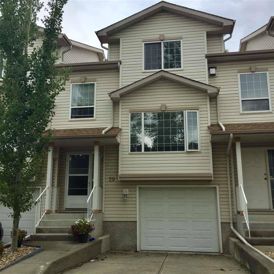 Townhouse for sale at 9935 167 St Nw Edmonton Alberta - MLS: E4170526