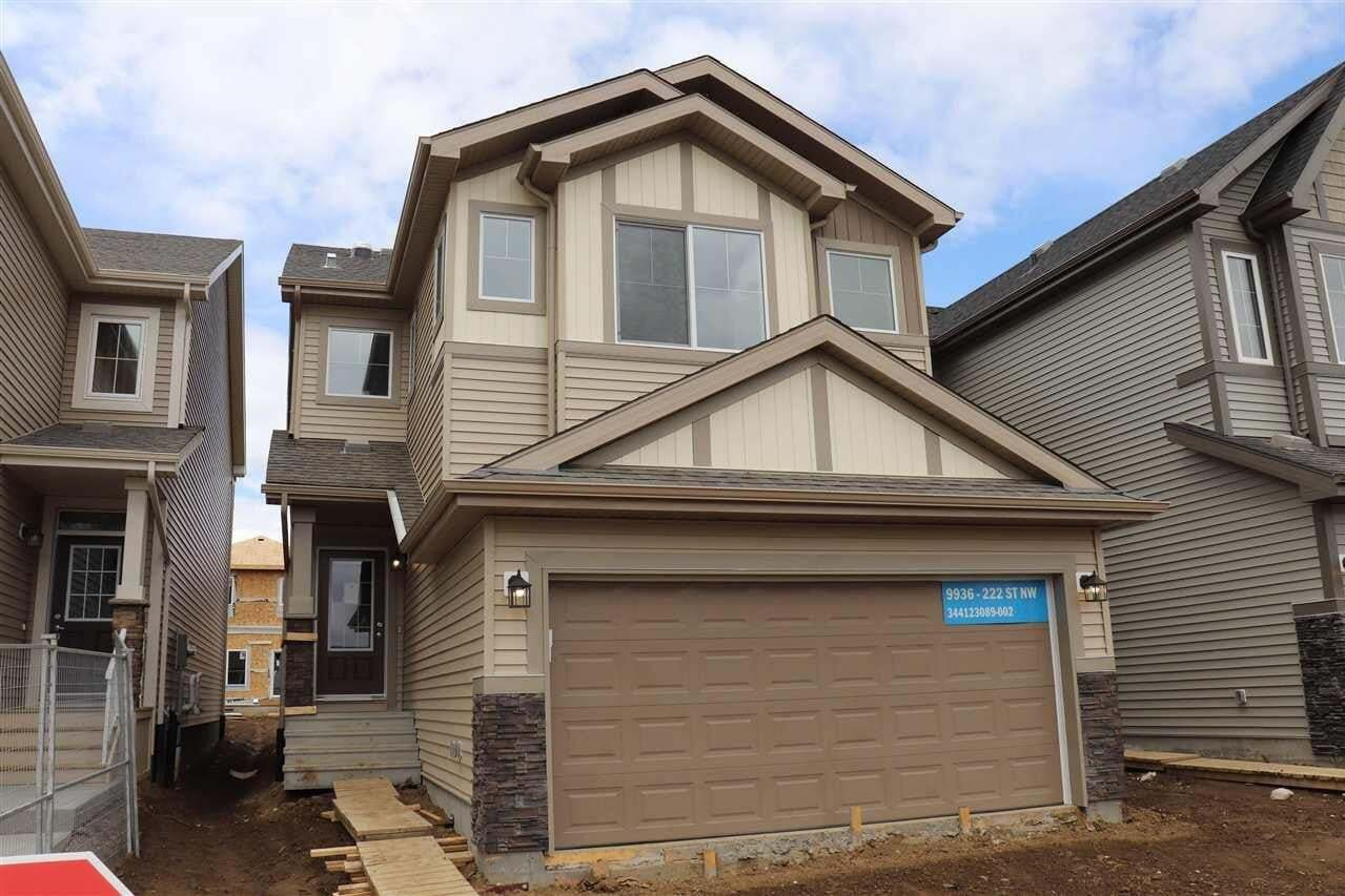 House for sale at 9936 222 St NW Edmonton Alberta - MLS: E4190826