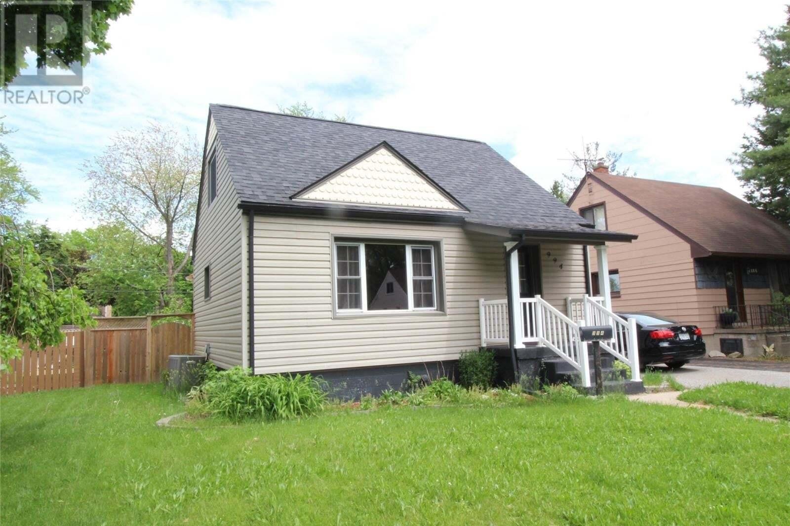 House for sale at 994 Merritt Ave Windsor Ontario - MLS: 20006049