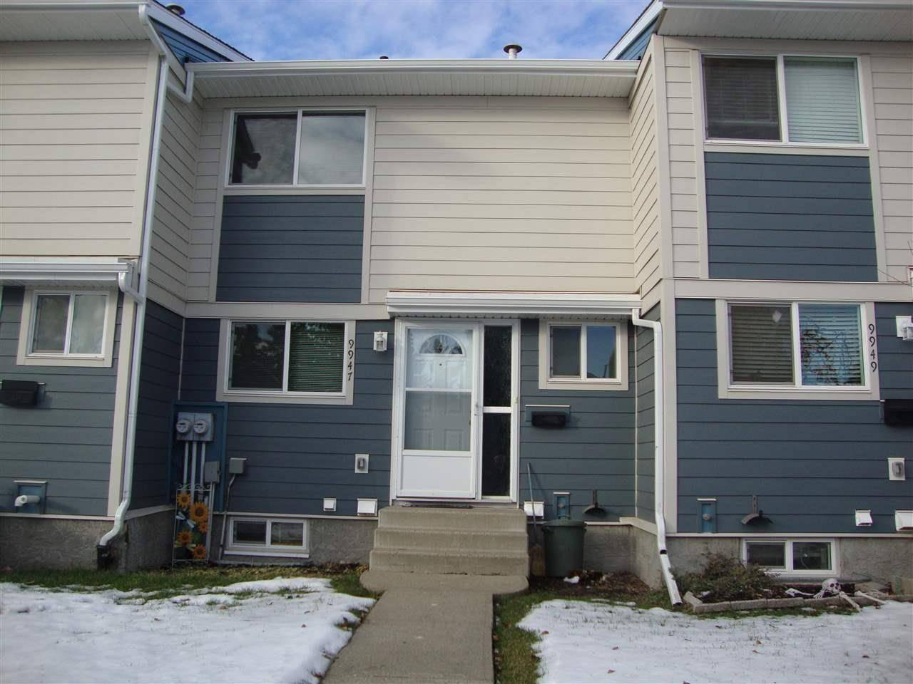 Townhouse for sale at 9947 171 Ave Nw Edmonton Alberta - MLS: E4180372