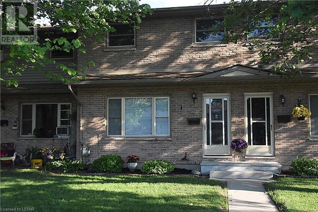 Townhouse for sale at 995 Notre Dame Dr London Ontario - MLS: 270317