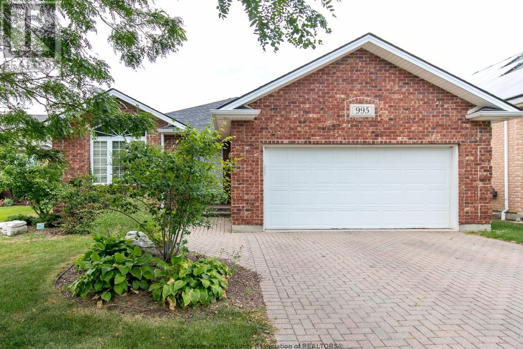 Removed: 995 Rendezvous Drive, Windsor, ON - Removed on 2017-08-22 22:02:00