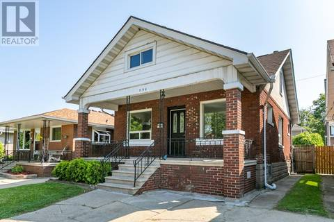 House for sale at 996 Pillette  Windsor Ontario - MLS: 19021675