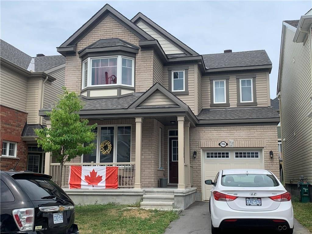 House for rent at 996 Shimmerton Circ Kanata Ontario - MLS: 1161213
