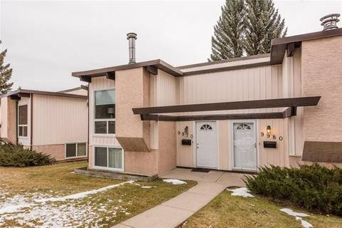 Townhouse for sale at 9970 26 St Southwest Calgary Alberta - MLS: C4275801