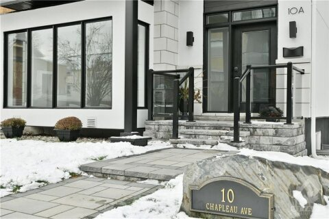 Condo for sale at 10 Chapleau Ave Unit A Ottawa Ontario - MLS: 1222693