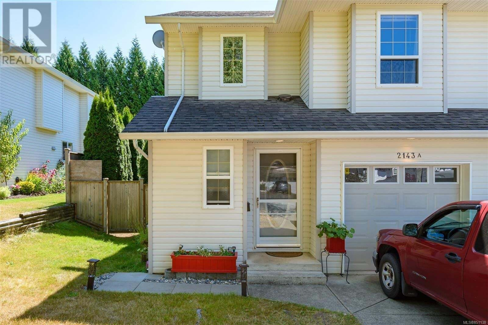 Townhouse for sale at 2143 Mission  Unit A Courtenay British Columbia - MLS: 851138