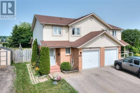 House for sale at 683 Pinerow Cres Unit A Waterloo Ontario - MLS: 30750732