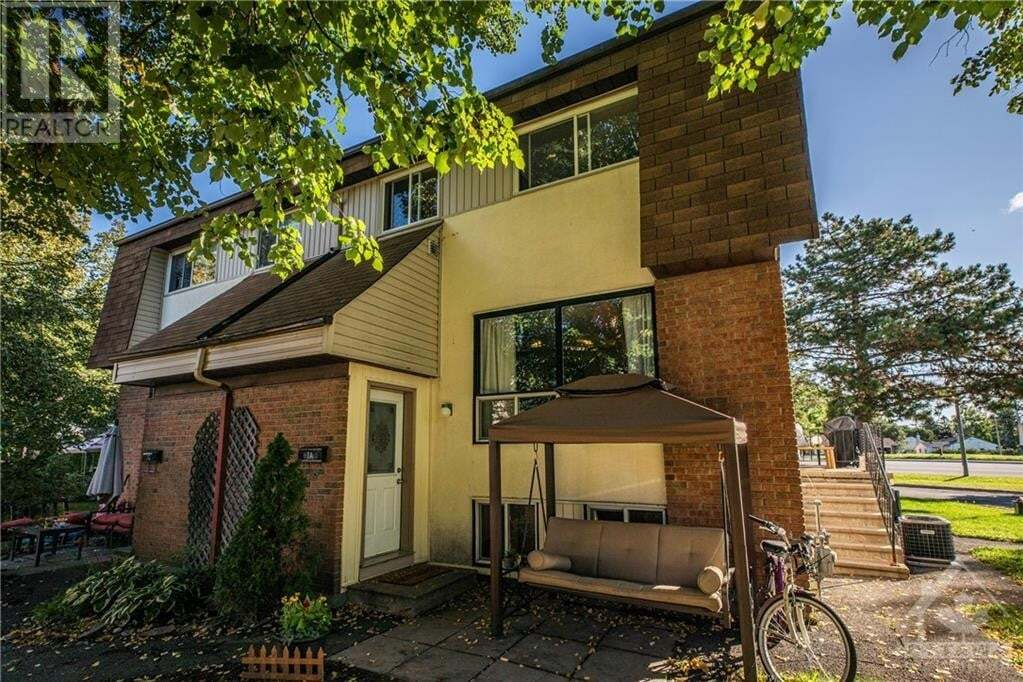 Townhouse for sale at 7 Sonnet Cres Unit A Ottawa Ontario - MLS: 1209803