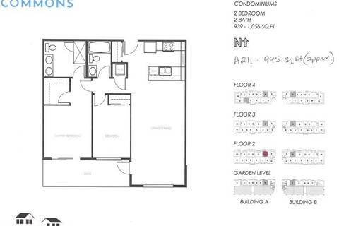 Condo for sale at 20487 65 Ave Unit A211 Langley British Columbia - MLS: R2449008