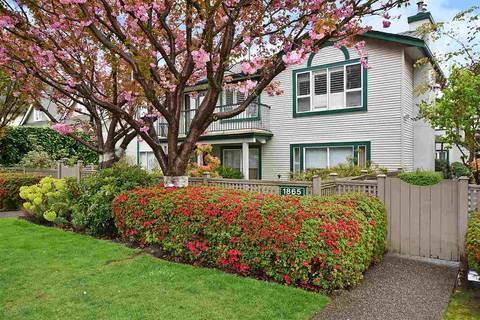 Townhouse for sale at 1865 10th Ave W Unit A3 Vancouver British Columbia - MLS: R2361324