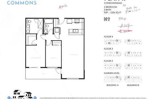 Condo for sale at 20300 44 Ave Unit A402 Langley British Columbia - MLS: R2371890