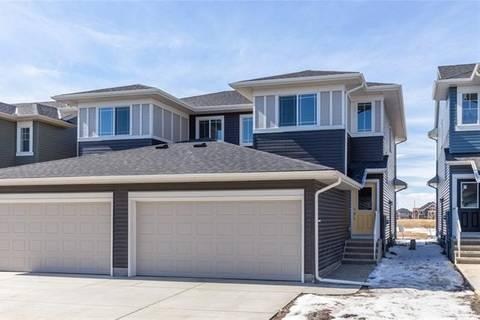 Townhouse for sale at 21 Saddlestone Alley Northeast Unit Al Calgary Alberta - MLS: C4292472