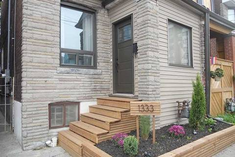 Townhouse for rent at 1333 Dupont St Unit Apt 1 Toronto Ontario - MLS: W4632667