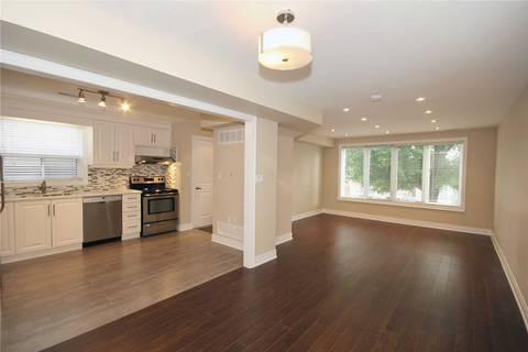 Townhouse for rent at 40 Ashbury Ave Unit Apt #2 Toronto Ontario - MLS: C4669121