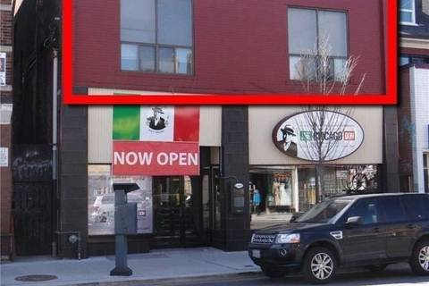 Commercial property for lease at 856 Bloor St Apartment #apt Toronto Ontario - MLS: C4642327