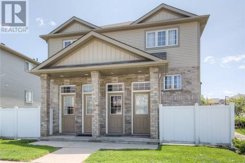 Townhouse for sale at 246 Westmeadow Dr Unit B Kitchener Ontario - MLS: 30739875