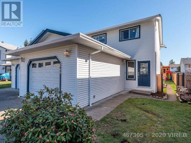 Townhouse for sale at  Myra Pl Unit B-2790 Courtenay British Columbia - MLS: 467305