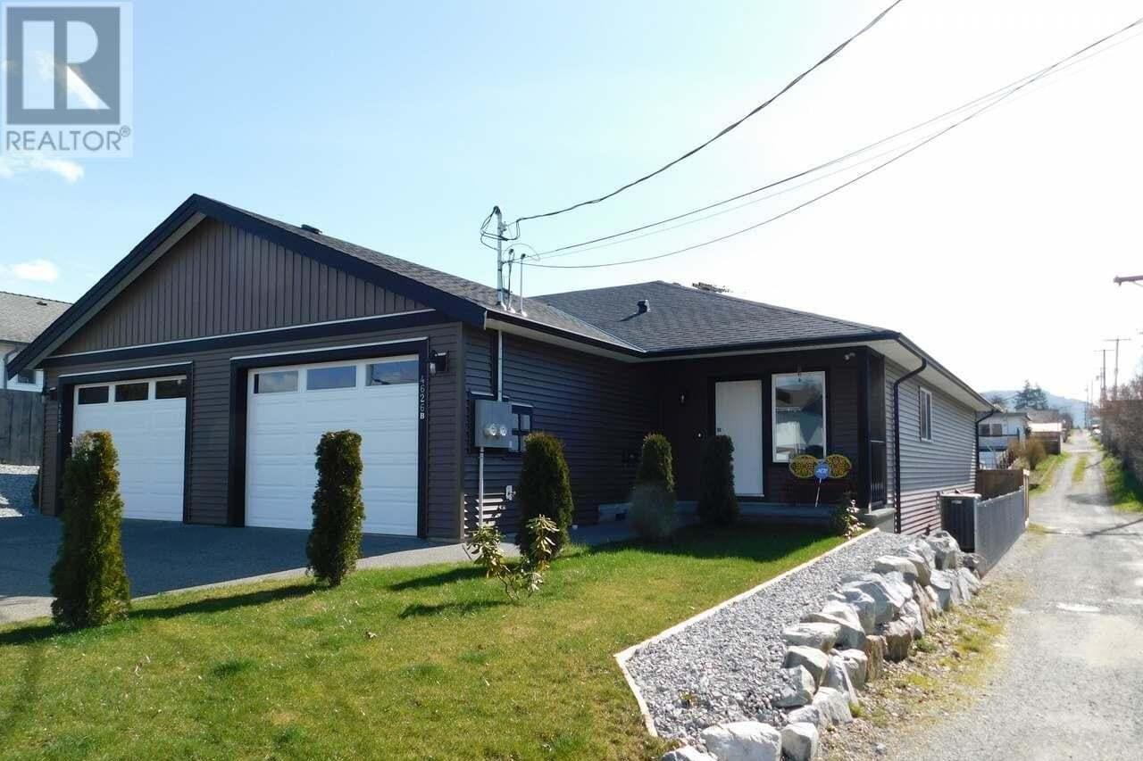 Townhouse for sale at 4626 Maitland  Unit B Port Alberni British Columbia - MLS: 844424