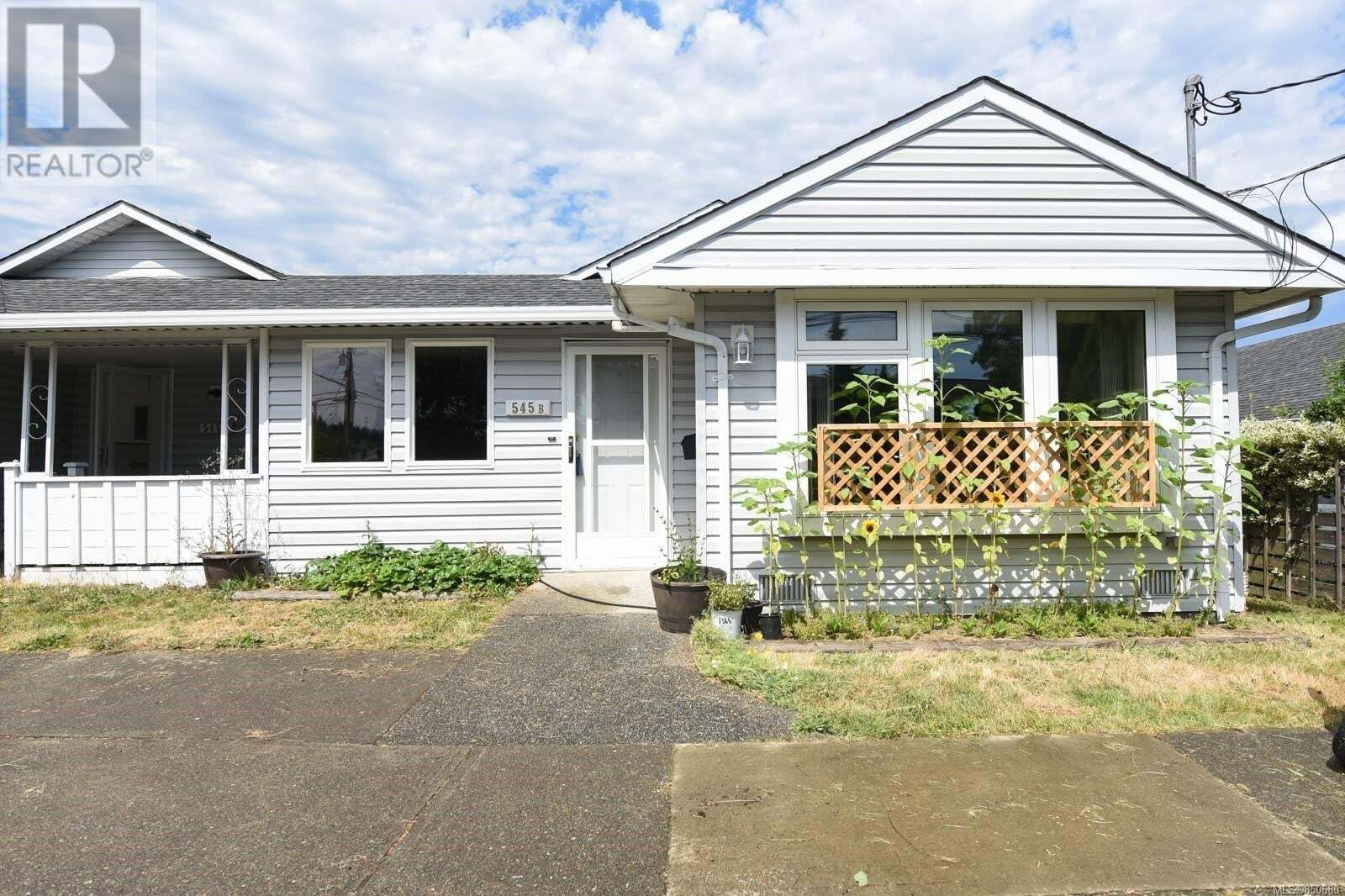 Townhouse for sale at 545 26th  Unit B Courtenay British Columbia - MLS: 850680