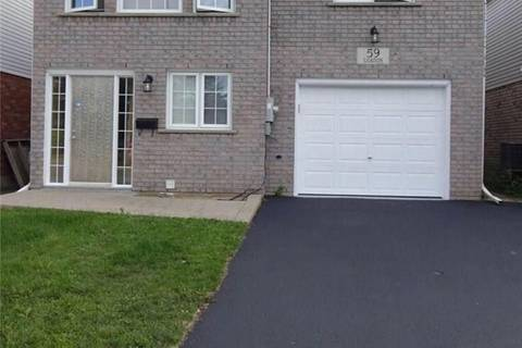 House for rent at 59 Gilkison St Unit B Brantford Ontario - MLS: 30740802