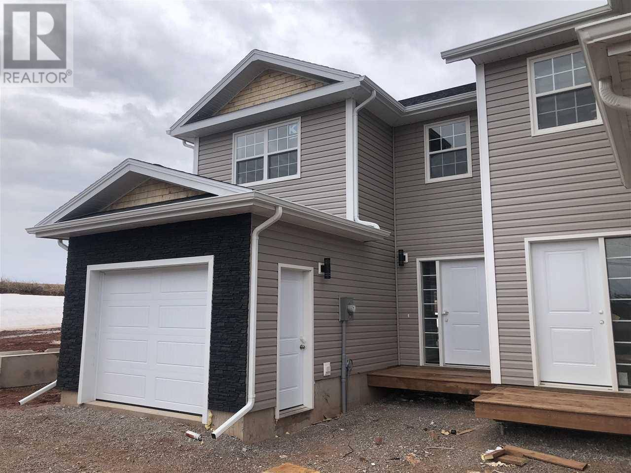 Townhouse for sale at 74 Macwilliams Rd Unit B East Royalty Prince Edward Island - MLS: 201916461