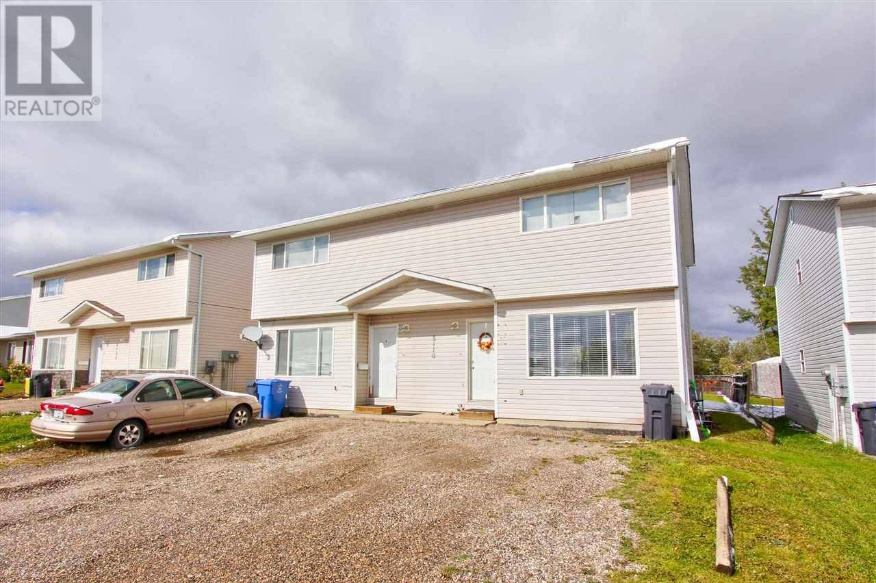 Townhouse for sale at 8116 90 Ave Unit B Fort St. John British Columbia - MLS: R2352523
