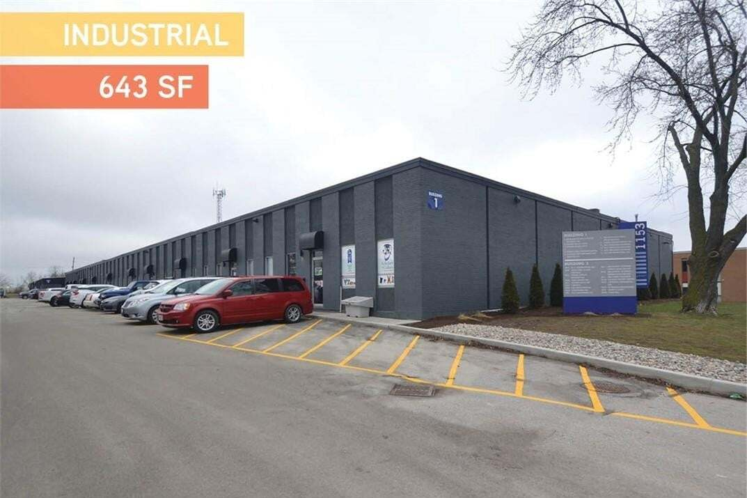 Commercial property for sale at C 1153 Pioneer Rd Unit B2 Burlington Ontario - MLS: H4089697