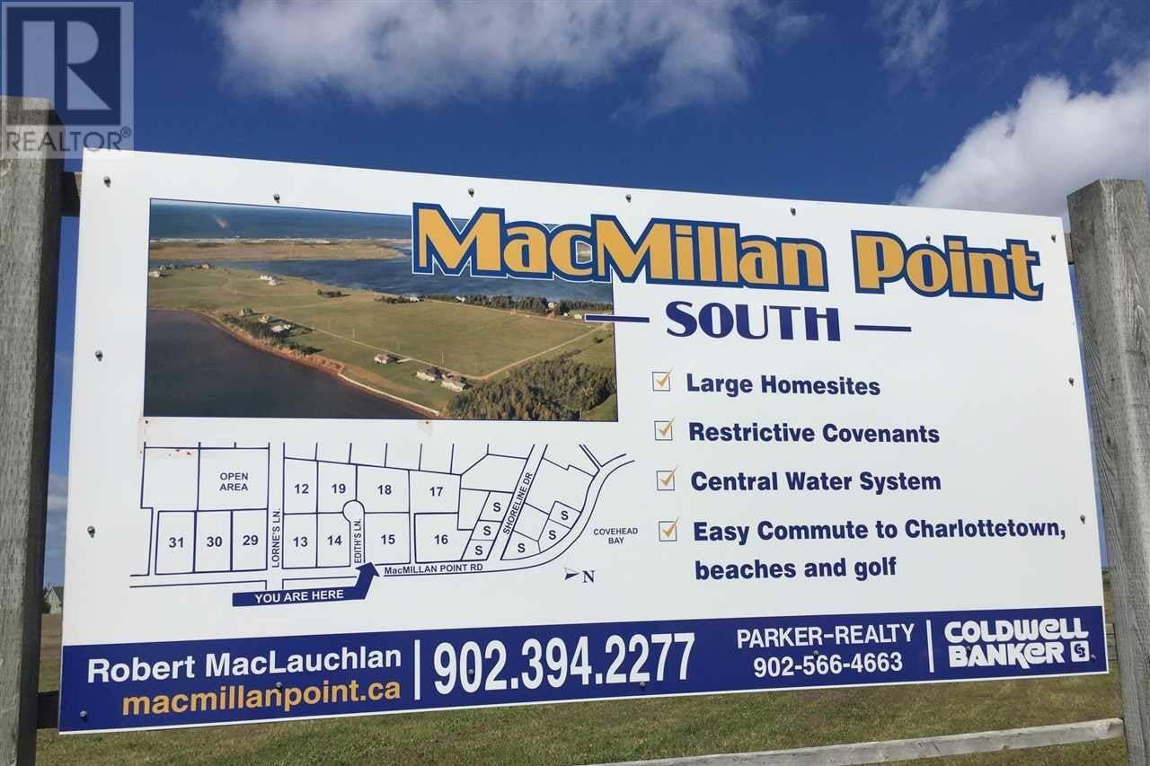 Home for sale at B24 Macmillan Pt South West Covehead Prince Edward Island - MLS: 202017906