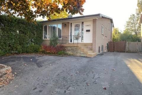 Townhouse for rent at 1865 Sandgate Cres Unit Basemen Mississauga Ontario - MLS: W4619044