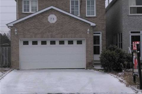 House for rent at 73 Woodhall Rd Unit Basemen Markham Ontario - MLS: N4692558