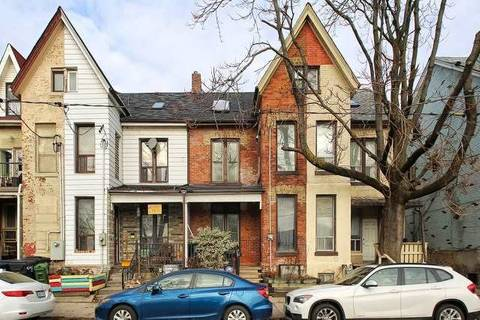 Townhouse for rent at 928 Dundas St Unit Basmnt Toronto Ontario - MLS: E4654884