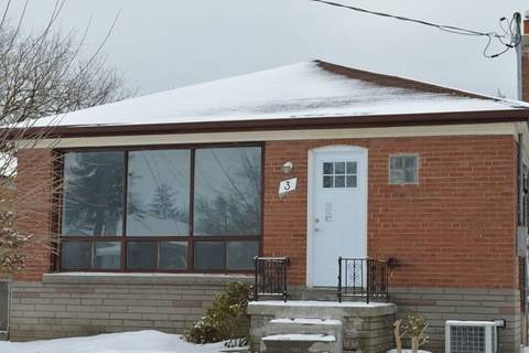 House for rent at 3 Strode Dr Unit Bed-3 Toronto Ontario - MLS: E4361463