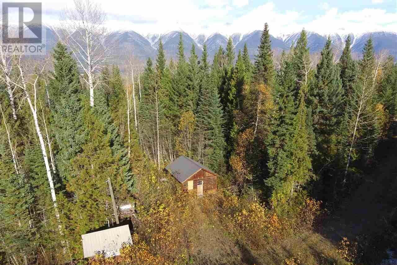 Residential property for sale at BELL Mountain Rd Mcbride British Columbia - MLS: R2412798