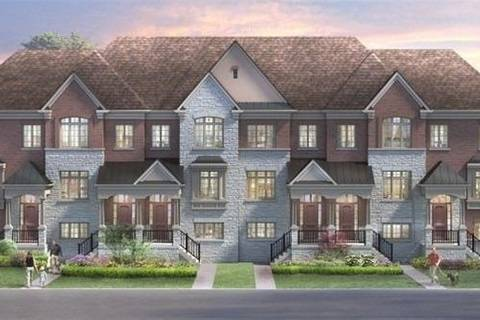 Townhouse for sale at 4311 Major  Mackenzie Rd Unit Blk 6-2 Markham Ontario - MLS: N4455580