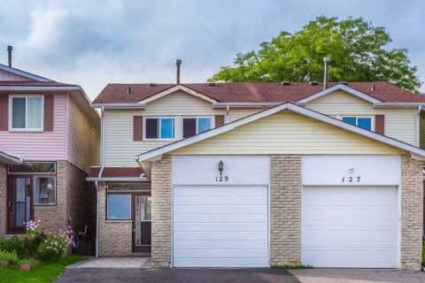Townhouse for sale at 129 Silver Springs Blvd Unit Blvd Toronto Ontario - MLS: E4914425