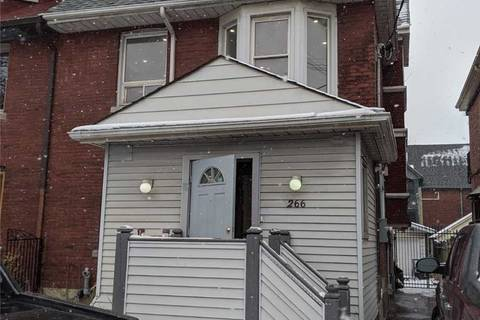 Townhouse for rent at 266 Roncesvalles Ave Unit Bsmnt Toronto Ontario - MLS: W4694591